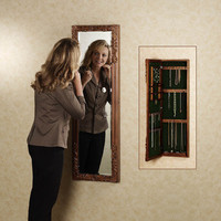Victoriana Jewelry Wall Mirror