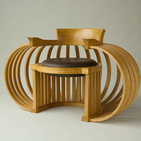 Torus Chair by Reid Anderson: Wood Chair - Artful Home