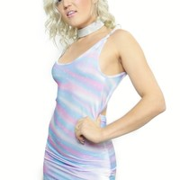 Rainbowflow Micro-mini Dress