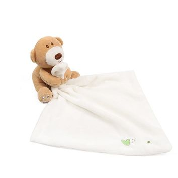 New Baby Hand Towel Infant Newbron Supper Soft Appease Towel Comfort  Blanket Toy Bear Baby Bath Towel for kids