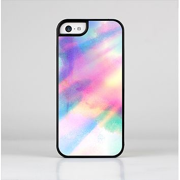 The Tie Dyed Bright Texture Skin-Sert Case for the Apple iPhone 5c