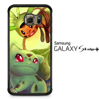 Pokemon Bulbasaur Y1359 Samsung Galaxy S6 Edge Plus Case