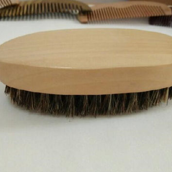 Beard Brush Men Shaving Brush Bamboo With Boar Bristles Shaving Badger Shaving Brush Face Massage High Qulity