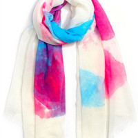 Watercolor Frenzy Scarf