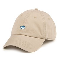 Mini Skipjack Hat in Khaki by Southern Tide