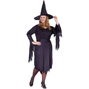 Witchy Witch Plus Size