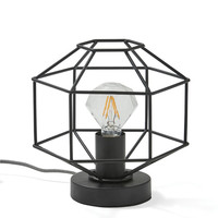 Black Diamond Outline Lamp
