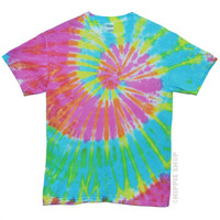 Pastel Spinner Tie Dye T Shirt on Sale for $16.95 at HippieShop.com