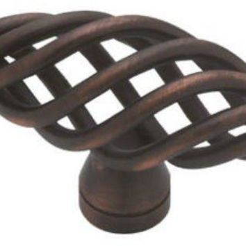 "Liberty P0528A-VBR-C Large Birdcage Oval Knob, 2-1/2"", Bronze with Copper"