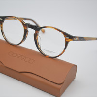 Vintage Optical Glasses Frame Oliver Peoples OV5186 Gregory Peck 47mm Eyeglasses For Men and Women Eyewear Frames With Case