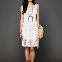 Free People  Clothing Boutique > To A T Crochet Slip