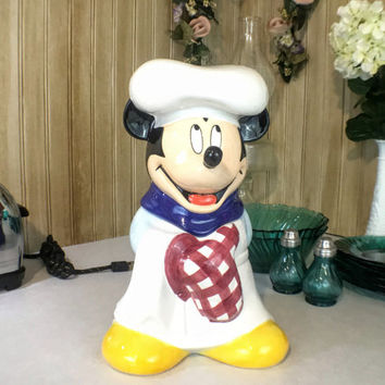 Chef Mickey Mouse Disney Collectible Cookie Jar
