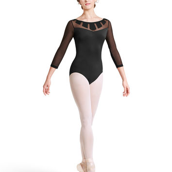 Sunray 3/4 Sleeve Leotard