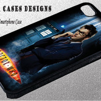 Doctor Who David Tennant Case for iPhone 5C/5S/5 , iPhone 4S/4 , Galaxy S4 , Galaxy S3 - Ship Fast From USA