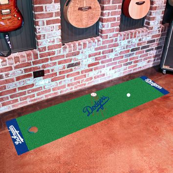 "MLB - Los Angeles Dodgers Putting Green Runner 18""x72"""