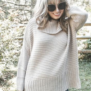 Sophie Chunky Knit Sweater