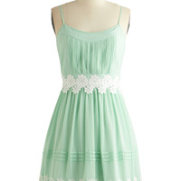 Life is But a Gleam in Mint | Mod Retro Vintage Dresses | ModCloth.com
