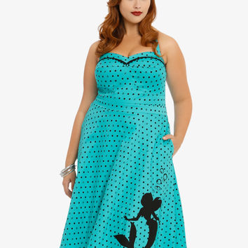 Disney The Little Mermaid Collection Polka Dot Swing Dress
