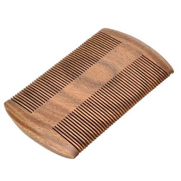 Pocket Wooden Comb Natural Sandalwood Super Narrow Tooth Hair Brush Wood Combs No Static Lice Pet Beard Comb Hair Styling Tool