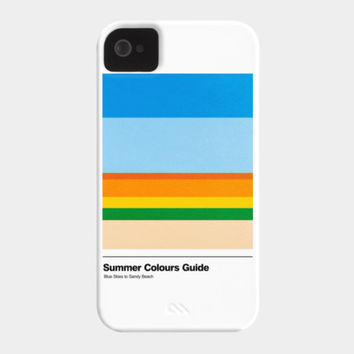 Summer Colours Guide Phone Case By Gutsandglory Design By Humans