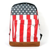 Outdoor Sports and Leisure Packages Flag Backpack Package Shoulder Bag for Men and Women