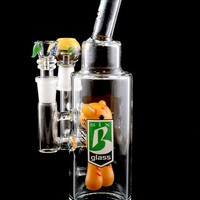 Medium Stemless GoG Bad Teddy Double Duty Dry Herb and Dab Rig - WP1395