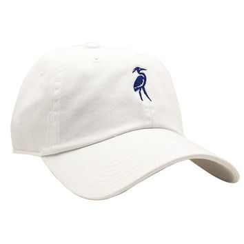 Classic Heron Twill Hat in White by Waters Bluff