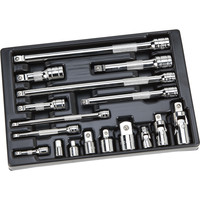 Klutch Ratchet Accessory Set — 17-Pc. | Multi-Drive Specialty Sets| Northern Tool + Equipment