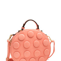 Oversized Buttons Crossbody Bag