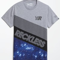Young & Reckless Challenger T-Shirt - Mens Tee - Grey
