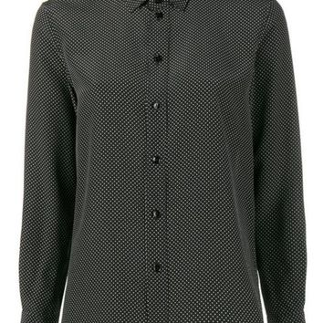 CREYONJF Saint Laurent Polka Dot Shirt - Farfetch