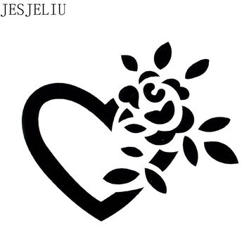 1PC Love Flower Shape Reusable Stencil Airbrush Painting Art DIY Home Decor Scrap booking Album Crafts Gift