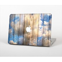 The Cloudy Wood Planks Skin Set for the Apple MacBook Pro 15""