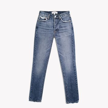 Skinny Rich Whiskers High Rise Jeans