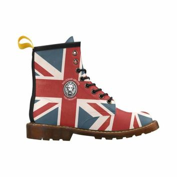 NFA The Original Union Jack Combat Boots For Men Limited Edition