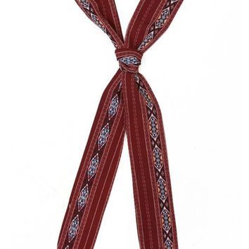 TRIBAL SKINNY SCARF
