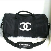 NEW Authentic Chanel Duffle/ Traveling Shoulder Bag