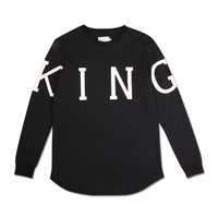 King Apparel - Leyton Longsleeved T-shirt - Black