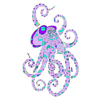 Purple Octopus by mreedd