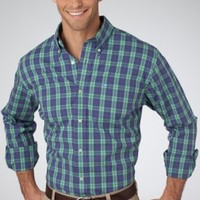 Highland Plaid Sport Shirt