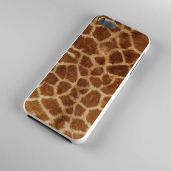 DS285-iPhone Case - Iphone 5 case-Iphone 5s case - Iphone 4 case - Iphone 4s case - Iphone Cover -Animal Print Giraffe iPhone Case