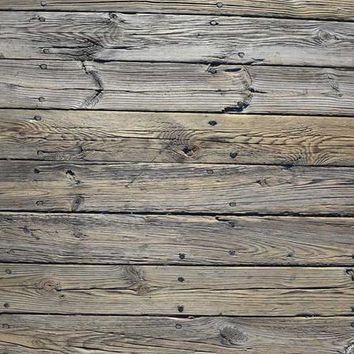 PEWTER GREY WOOD CANDY FLOOR DROP - 4x5 - LCCF6059 - LAST CALL