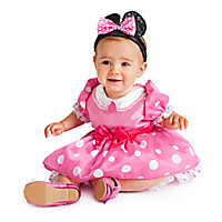 Minnie Mouse Costume for Girls - Pink