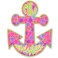 Marley Lilly Anchor Promotional Sticker | Marley Lilly