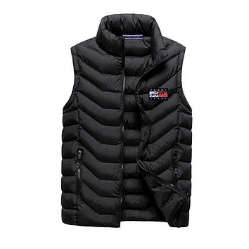 Boys & Men Tommy Hilfiger Fashion Down Vest Cardigan Jacket Coat