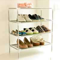Non-woven DIY Simple Shoes Shelf Multi-layer Shoes Storage Home Organizer Shoes Rack Furniture