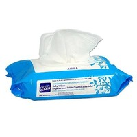 Nice 'N Clean Baby Wipes Soft-Pack with Aloe - Unscented, Hypoallergenic, Pack/80 Wipes
