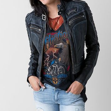 Affliction Black Premium Lethal Attack Jacket