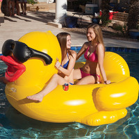 Riding Derby Duck Inflatable with Electric Pump | Costco UK -