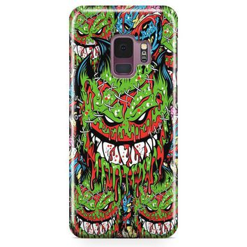 Spitfire Monster Skateboard Wheels Samsung Galaxy S9 Case | Casefantasy